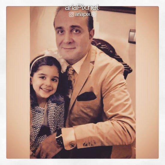 سینا سرلک و دخترش