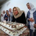 مراسم جشن تولد 60 سالگی مهرانه مهین ترابی با حضور هنرمندان +عکسها