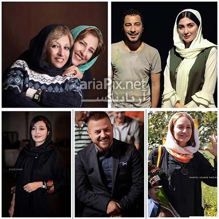 بازیگران و هنرمندان مهر ۹۶
