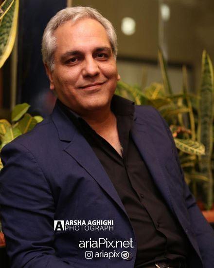 مهران مدیری افتتاحیه کافه مجید مظفری