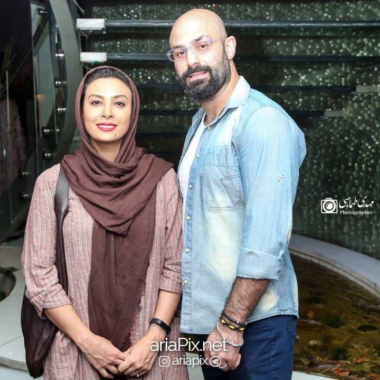 حدیثه تهرانی و همسرش در اکران خصوصی ملی و راه های نرفته