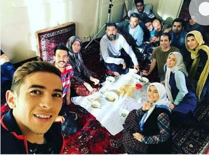 فرشاد احمدزاده در سریال محکومین