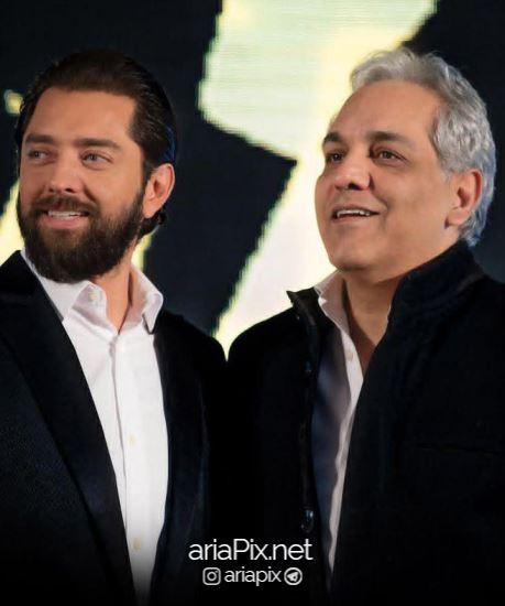 مهران مدیری در اکران خصوصی فیلم زرد