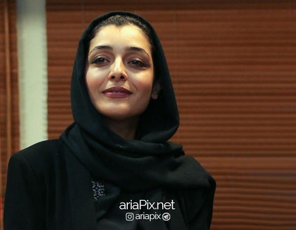 ساره بیات در اکران فیلم زرد