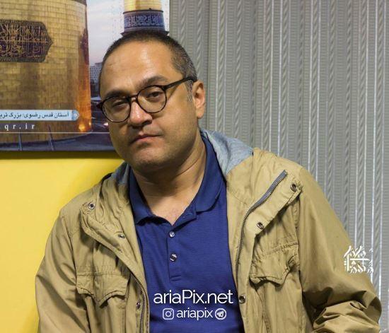 رامبد جوان در اکران فیلم نگار در مشهد