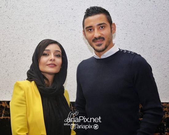 رضا قوچان نژاد در تولد ساره بیات در سینما قدس