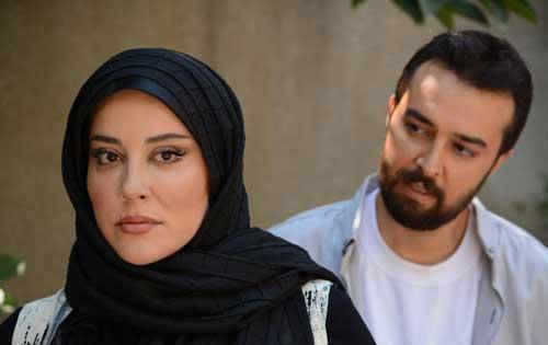 محمودرضا قدیریان و همسرش