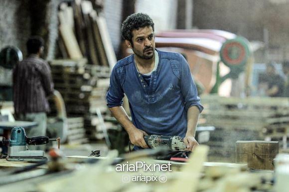 مجتبی پیرزاده در سریال سایه بان در نقش سهراب