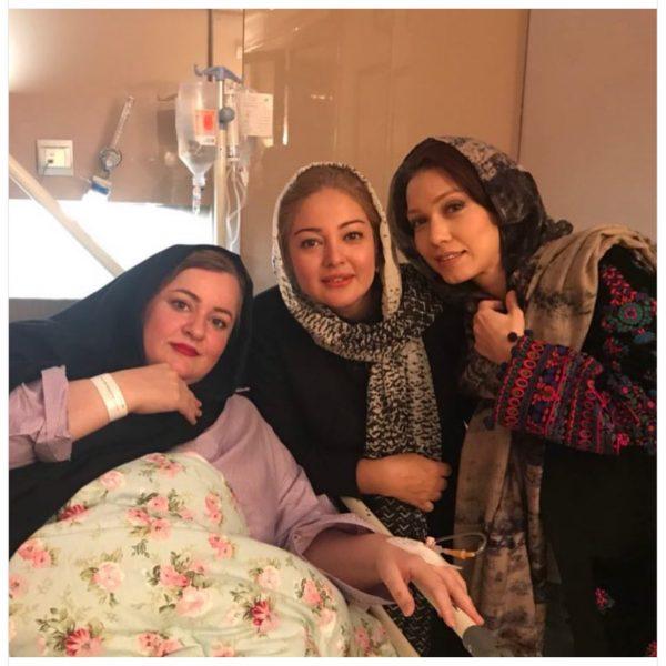 نعیمه نظام دوست در بیمارستان