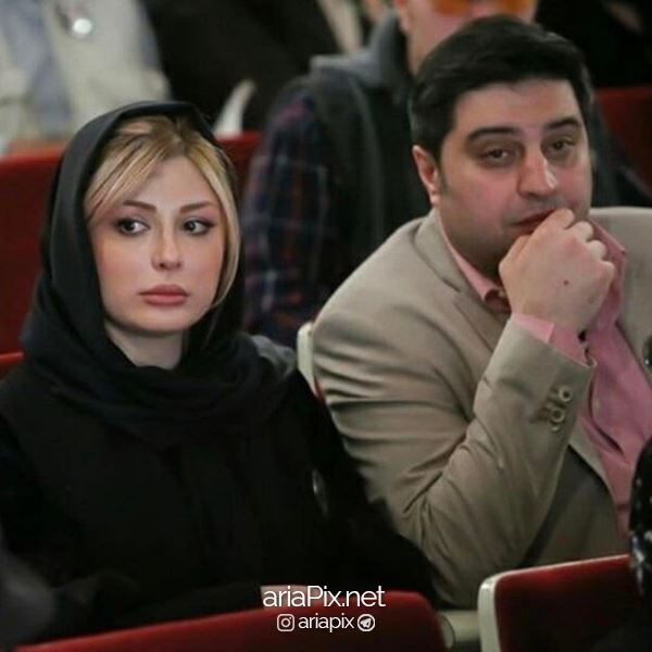 نیوشا ضیغمی و شوهرش ارش پولادخان