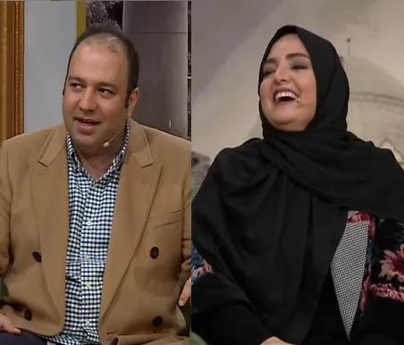 علی اوجی و نرگس محمدی دورهمی