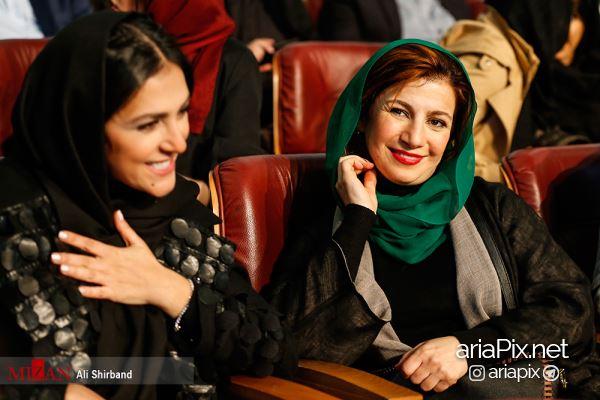 بازیگران زن در اختتامیه جشنواره فجر 96