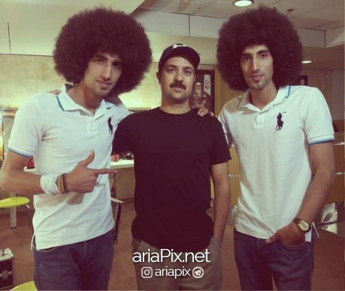رحمان و رحیم در کنار احمد مهرانفر