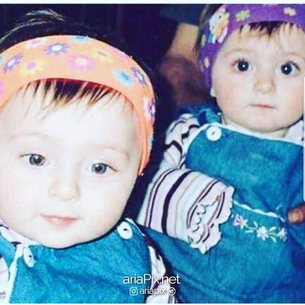 عکسی از کودکی سارا و نیکا