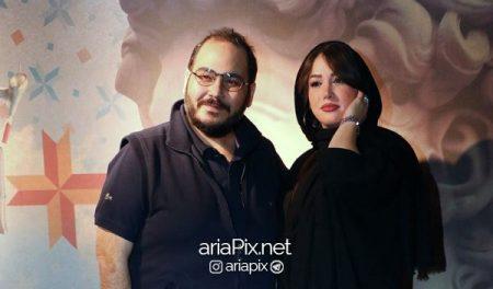 رضا داود نژاد و همسرش غزل بدیعی