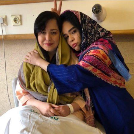 دلیل بستری شدن مهراوه شریفی نیا در بیمارستان +عکس