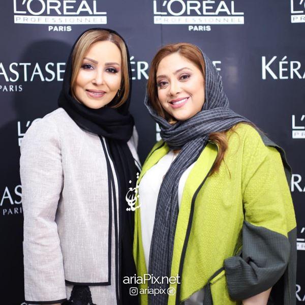 بازیگران در افتتاحیه ارایشگاه مریم سلطانی