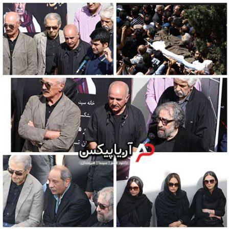 تشییع جنازه ناصر ملک مطیعی