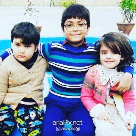 نیوشا علیپور و بازیگران پسر سریال بچه مهندس