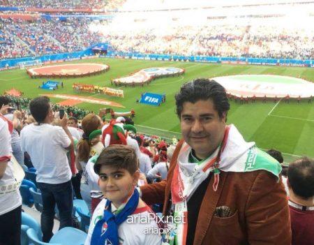 خوانندگان ایرانی در جام جهانی 2018 روسیه