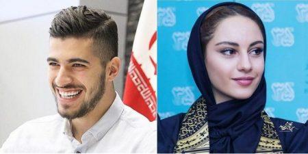 سعید عزت اللهی و همسرش