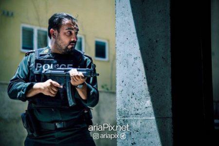 برزو ارجمند در سریال گشت پلیس