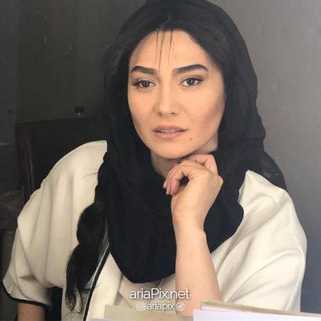 عکس بدون حجاب مینا وجید بازیگر زن بانوی عمارت