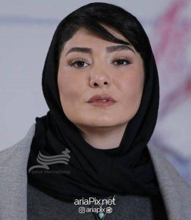 مینا وحید بازیگر زن بانوی عمارت در نقش جواهر