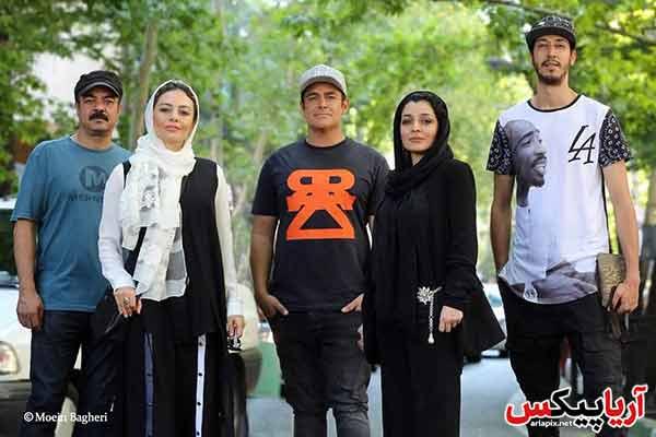 سعید اقاخانی و یکتا ناصر و محمدرضا گلزار و ساره بیات و بهرام افشاری