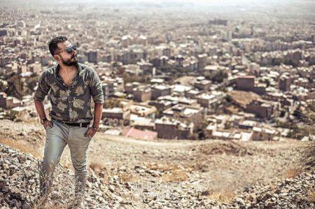 بیوگرافی عباس غزالی و همسرش +ازدواج عکسها و گفتگو
