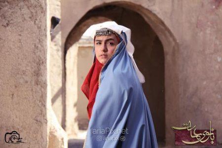 بازیگر نقش آهو در سریال بانوی عمارت (نیکی نصیریان)