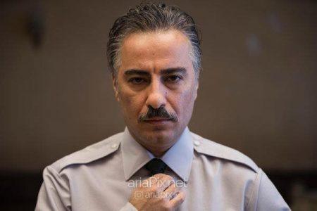 گریم متفاوت نوید محمدزاده در فیلم سرخ پوست
