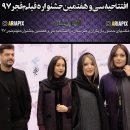 عکسهای مراسم افتتاحیه سی و هفتمین جشنواره فیلم فجر 97 با حضور بازیگران و هنرمندان