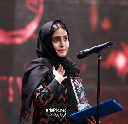 الناز شاکردوست برنده سیمرغ بهترین بازیگر زن جشنواره فجر 97