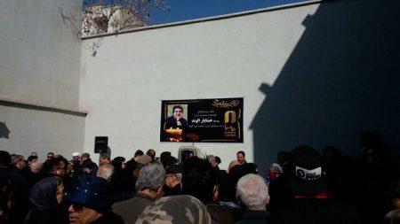 عکسهای تشییع جنازه خشایار الوند