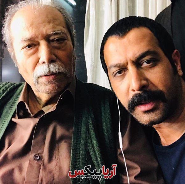کامران تفتی و علی نصیریان ( حنیف و کریم بوستان) سریال برادرجان