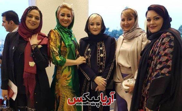 بازیگران زن در جشن حافظ 98