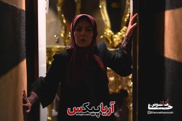 ستاره اسکندری بازیگر زن سریال ترور خاموش