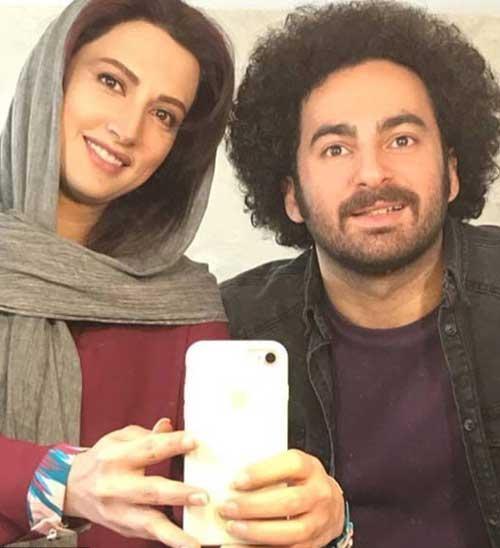 هومن شاهی و سمیرا حسینی در سریال زیر همکف