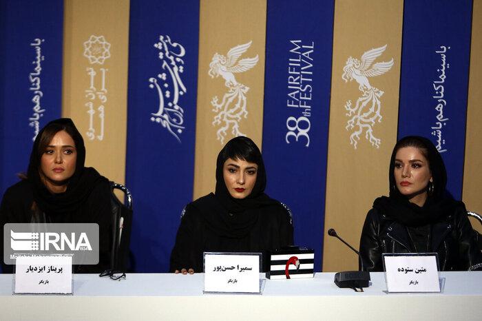 بازیگران زن فیلم سه کام حبس