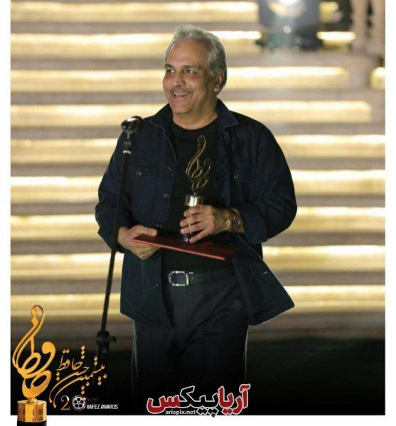 مهران مدیری در جشن حافظ 99