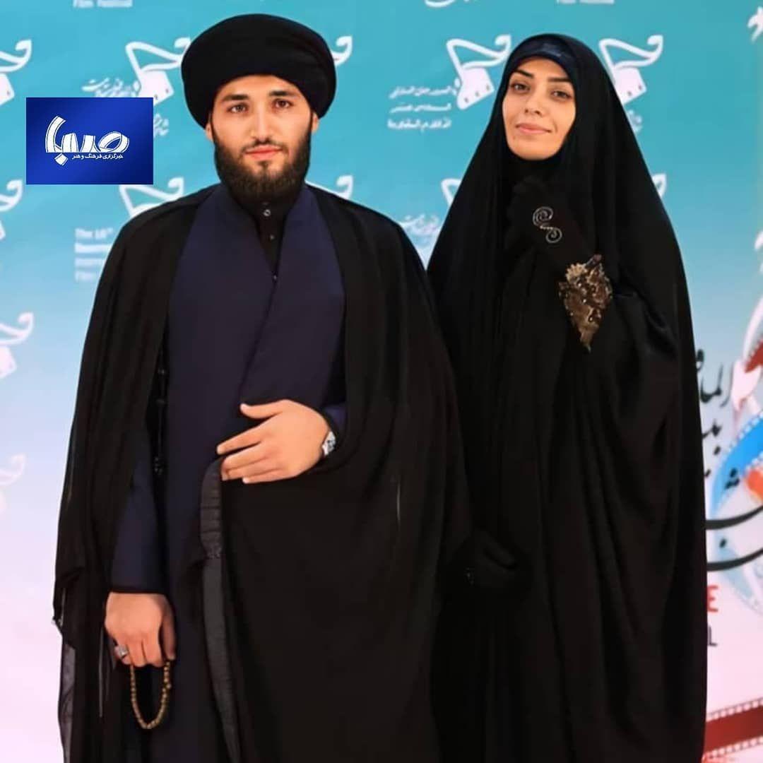 الهام چرخنده و همسرش  حجت الاسلام سید محمد درویشی