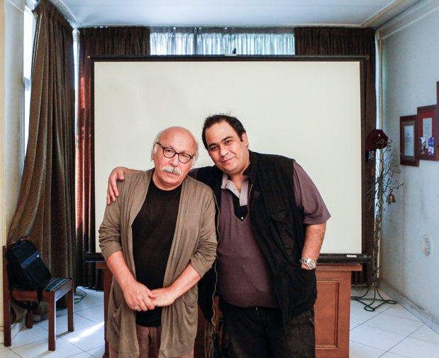 رضا داود نژاد و پدرش