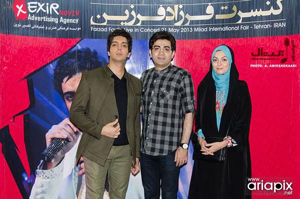 عکس آزاده نامداری و همسرش فرزاد حسنی,همسر آزاده نامداری,همسر فرزاد حسنی