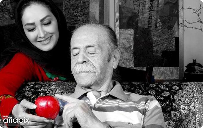 جدیدترین عکس الهام حمیدی و محمدعلی کشاورز(پدر سالار)