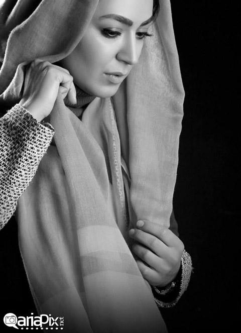 عکس جدید فریبا طالبی بازیگر رعنا در ستایش 2