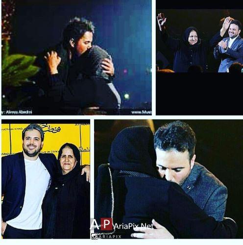 علی عبدالمالکی و مادرش