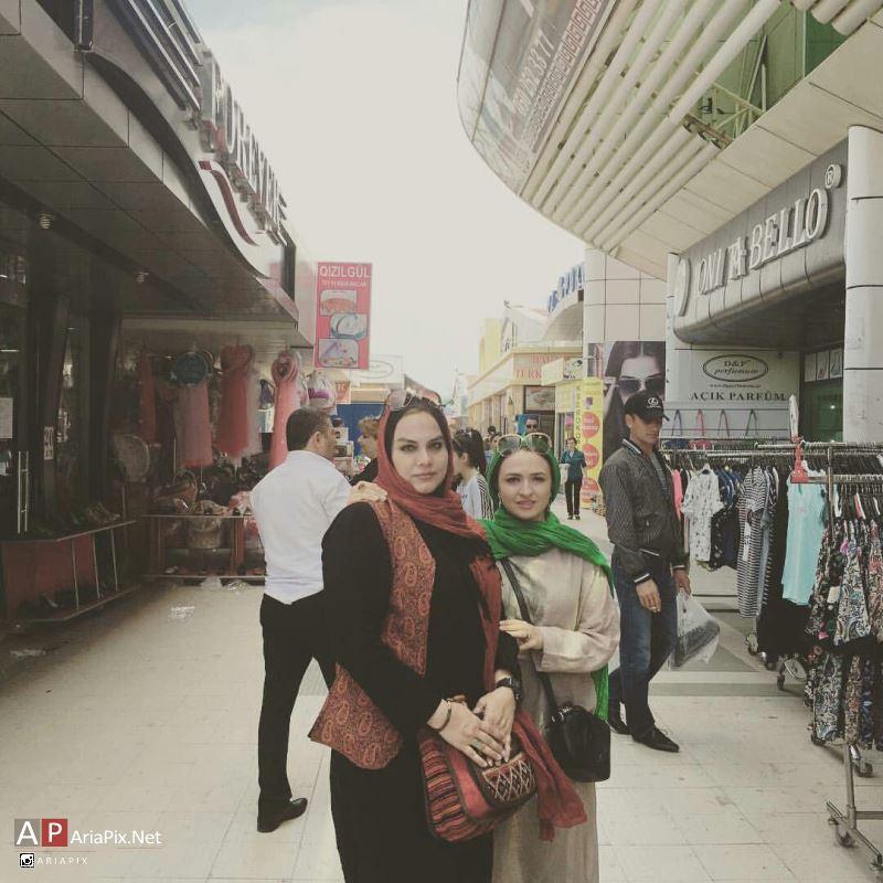 گلاره عباسی و نرگس آبیار در جشنواره فیلم های ایرانی در باکو