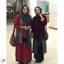 گلاره عباسی و نرگس آبیار در جشنواره فیلم های ایرانی در باکو +عکسها