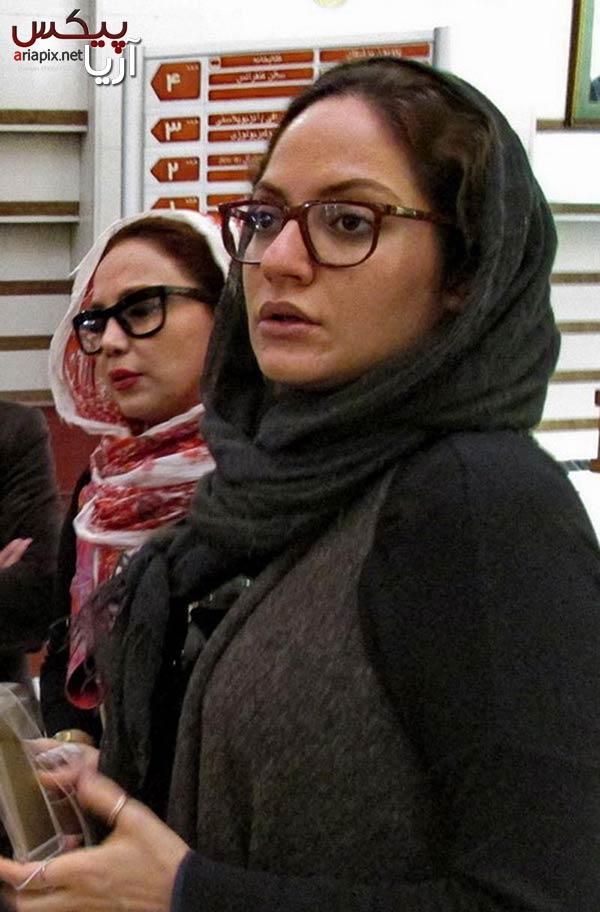 بهنوش بختیاری و مهناز افشار در ملاقات مرتضی پاشایی در بیمارستان بهمن / عکس
